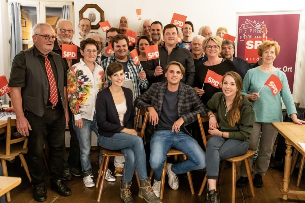 Stadtratskandidat-innen der SPD Altdorf