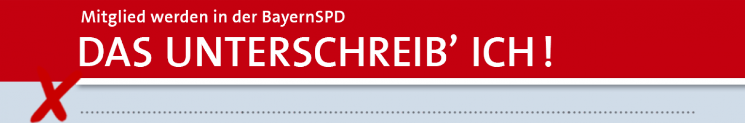 Mitglied werden bei der SPD